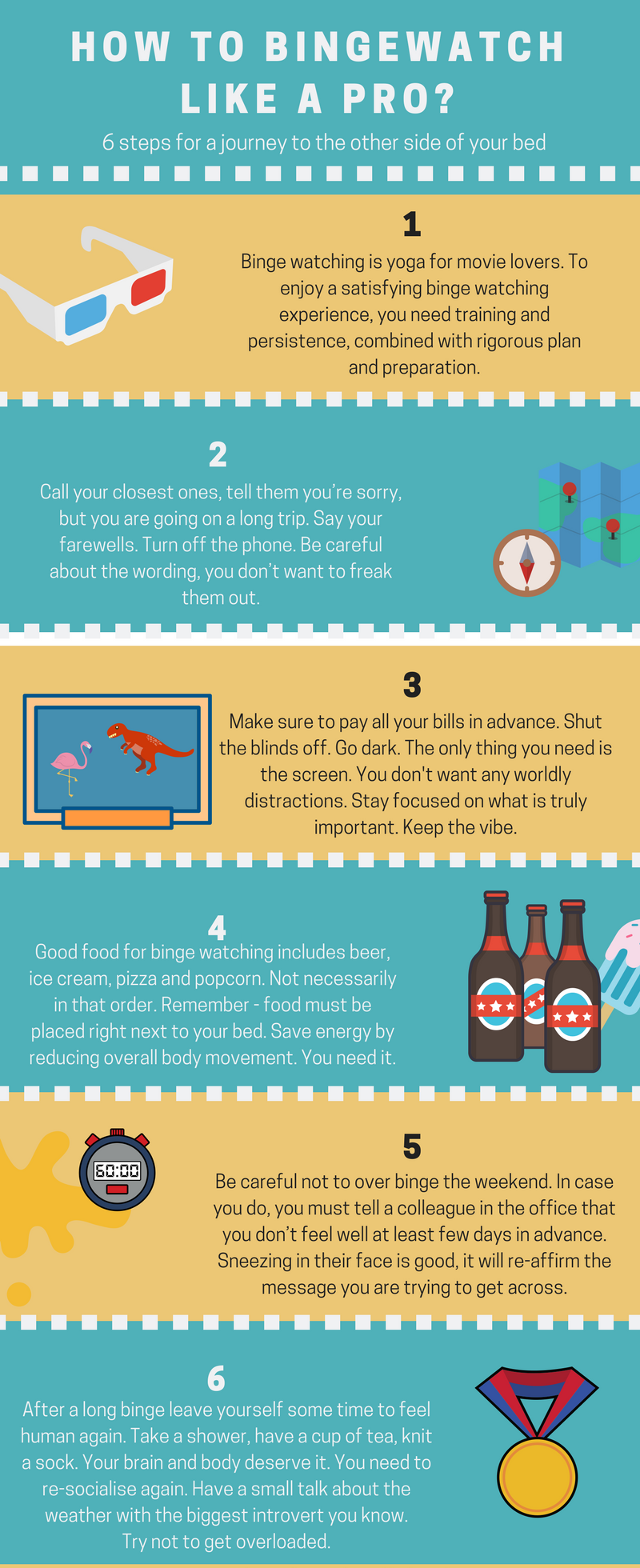 How To Binge Watch Like A Pro