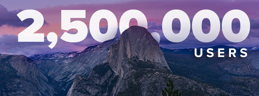 Stremio2.5 million users - The Stremio Blog