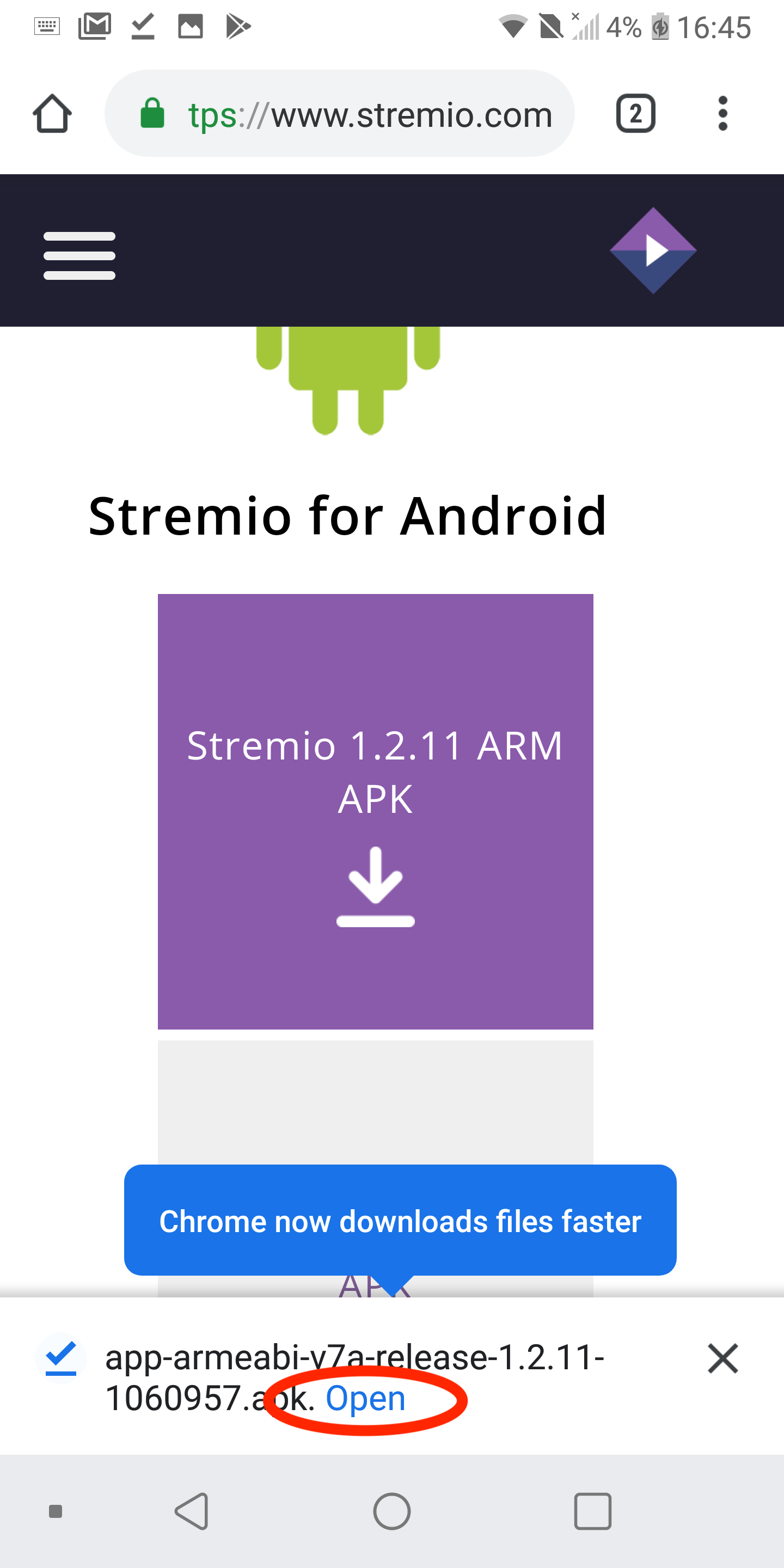 How to install the Stremio APK on Android [Step-by-step