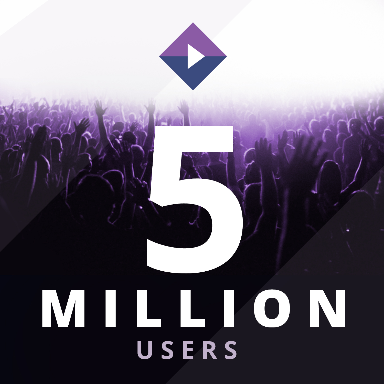 Stremio 5 Million Users