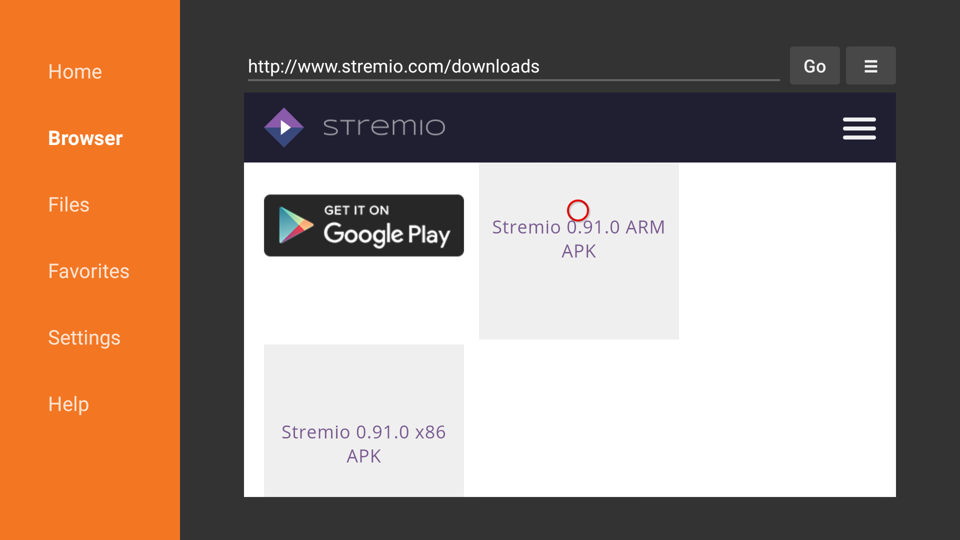 how to download stremio on firestick