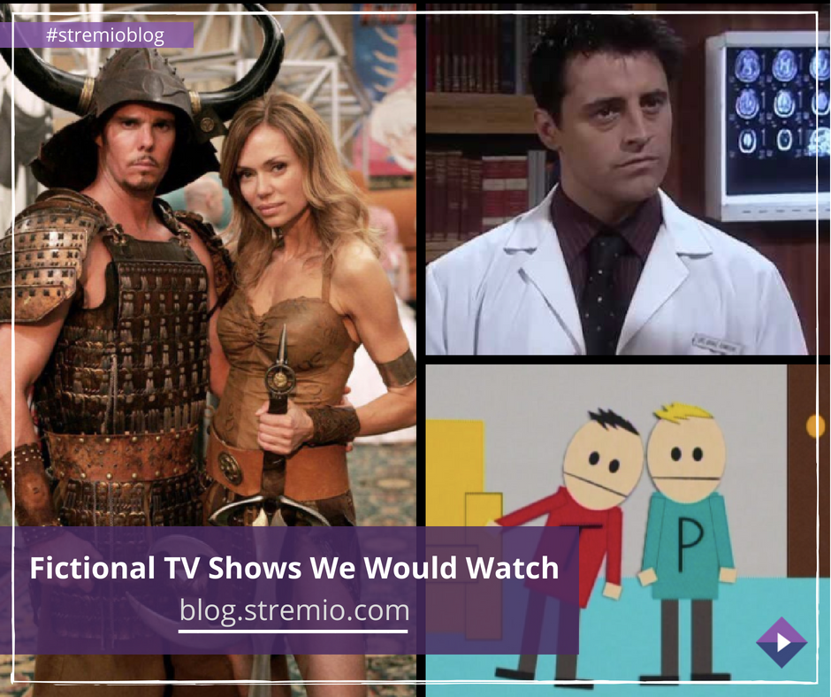 Fictional TV Shows We Would Watch.